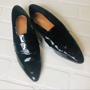 Halogen Patent Leather Loafers Size 6.5